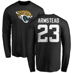 Youth Ryquell Armstead Jacksonville Jaguars Name & Number Logo Long Sleeve T-Shirt - Black